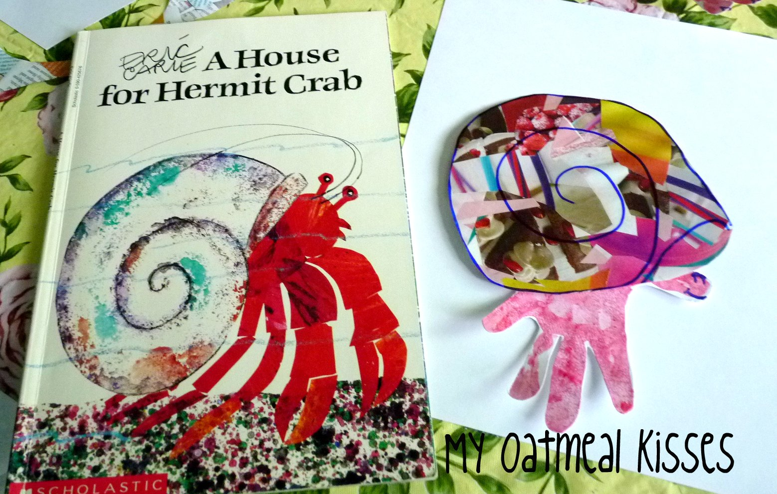 My Oatmeal Kisses A Home For Hermit Crab