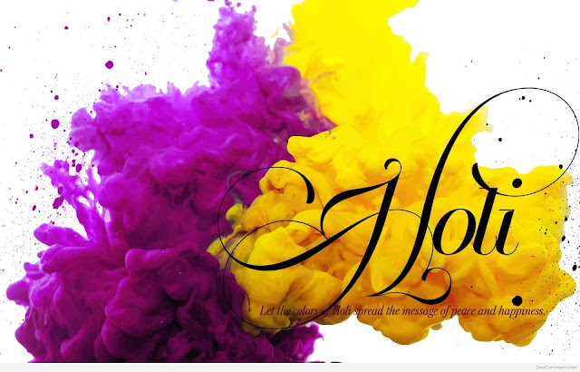 Best Happy Holi Greeting in English