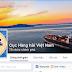 Đã có trang facebook chính thức của Cục hàng hải Việt nam