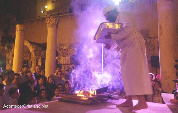 Ceremonia bíblica para el Tercer Templo