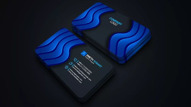 How To Design Creative & Professional Business Cards   Adobe Photoshop Tutorial