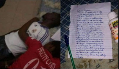 Lovers Who Were Not Allowed To Marry Over Osu Caste System, Commit Suicide (Photos)