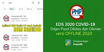 Aplikasi EDS/PMP SD, SMP, SMA Covid-19 versi Android