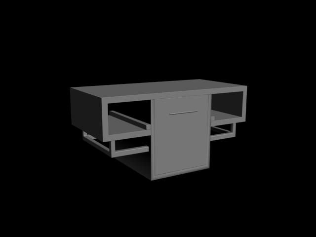 Televizyon Ünitesi 3D Model