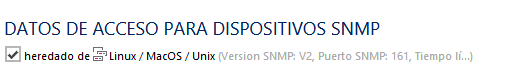 PRTG: SNMP Linux CentOS7 RHEL7