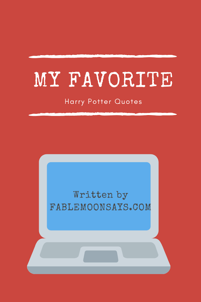 Favorite Harry Potter Quotes