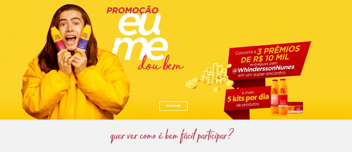 Promoção Eume Produtos 2020 Eu Me Dou Bem - Kits Todo Dia e Prêmios 10 Mil Reais