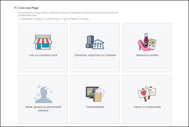 Comment créer une page commerciale sur Facebook - 1re partie