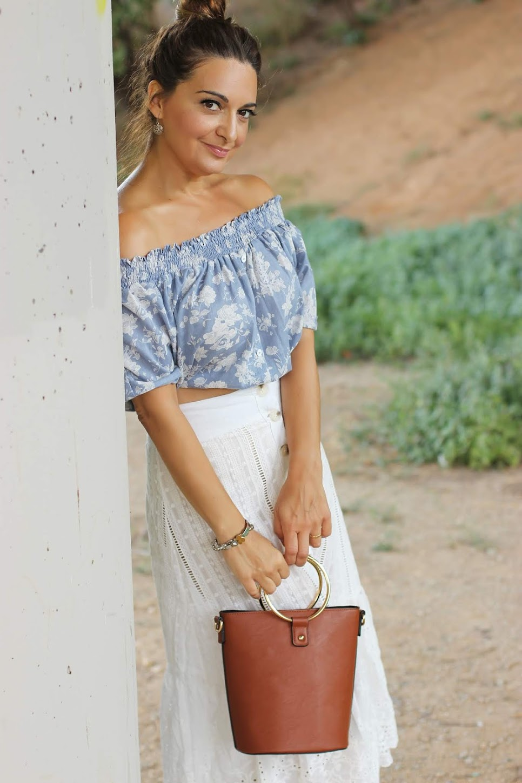f2322cb32 El blog de Renée: Como combinar una falda blanca con encaje