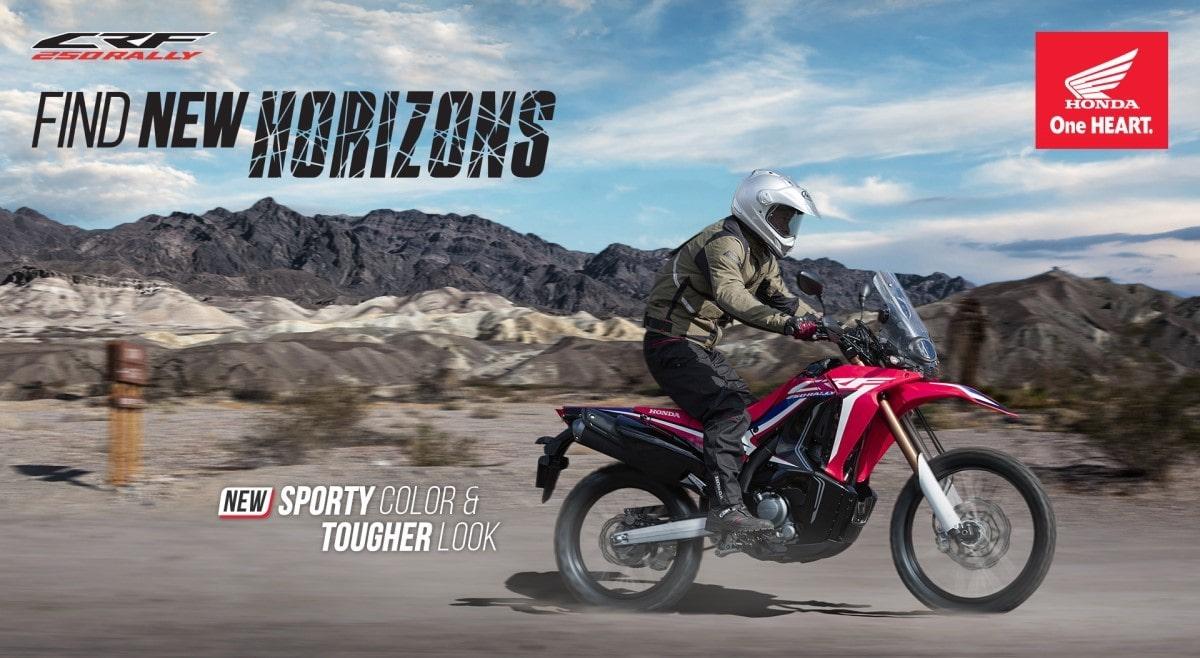 Promo Kredit Harga HONDA CRF250 RALLY Dealer Honda Sejahtera Mulia Cirebon