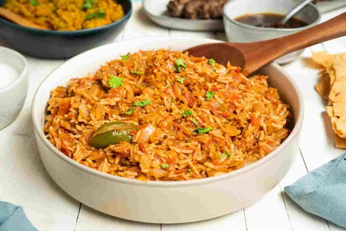 Tomato rice recipe a delicious recipe makes at home