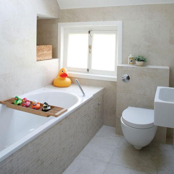 Hogares frescos 30 ideas para cuartos de ba os peque os y for Arreglar banos pequenos