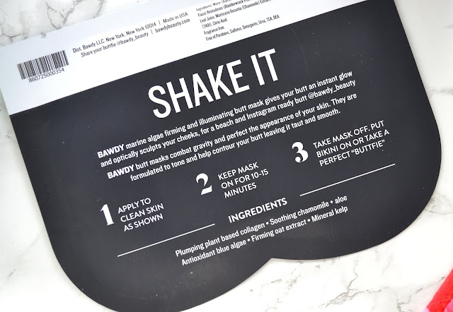 Bawdy Beauty Shake It Butt Mask Review