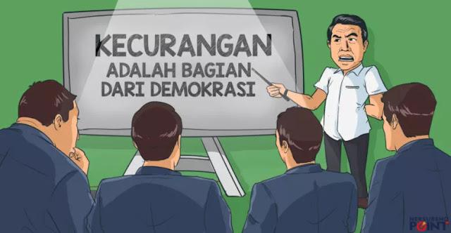 Kecurangan adalah Bagian dari Demokrasi