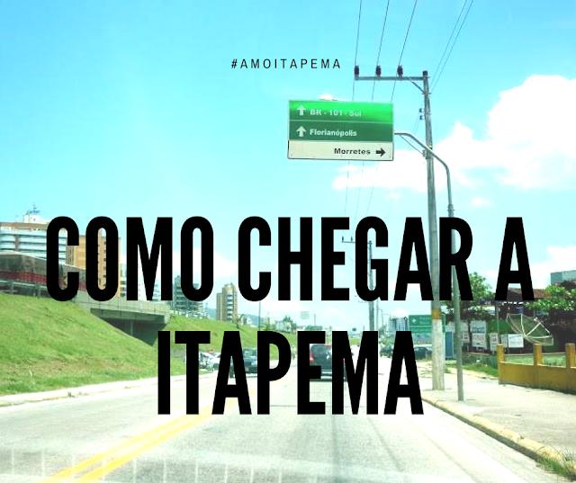 Como chegar a Itapema