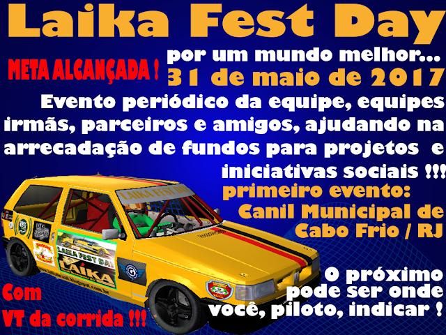 Laika Fest Day atinge objetivo e corrida se aproxima!