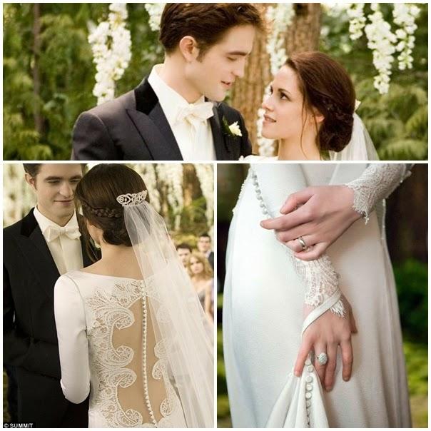 e4b58ba686c The Wedding of Bella Swan and Edward Cullen in The Twilight Saga ...