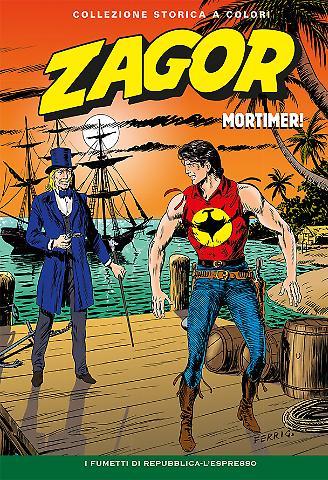 Zagor e altro zagor collezione storica a colori mortimer