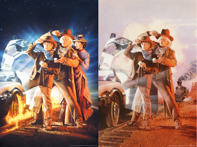Back to the Future Part III Screen Prints by Drew Struzan x Bottleneck Gallery x Vice Press