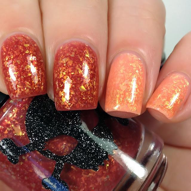 Necessary Evil Polish-Orange You Glad It's Autumn