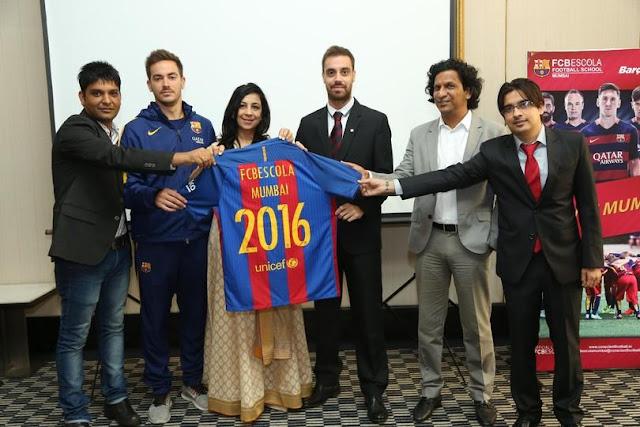 El Barça expande su marca con su primera escuela en Bombay