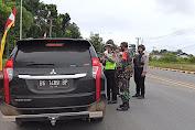 Petugas Pospam Lebaran Jaring Puluhan Kendaraan Pemudik
