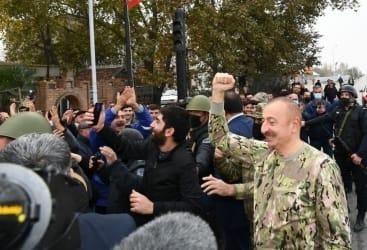 الرئيس علييف يهنئ الشعب بمناسبة تحرير مقاطعة أغدام من الاحتلال الأرميني