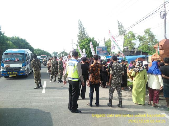 Polsek kapetakan Polres Cirebon Kota Gelar Pengawalan dan Pengamanan  Pawaib Ta'aruf