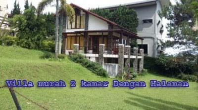 Villa 2 Kamar Murah Dengan Halaman Di Lembang Cocok Buat Kalangan Muda