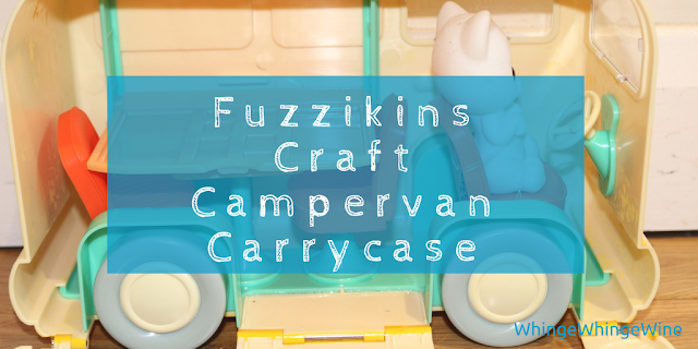 Fuzzikins Craft Campervan Carrycase by Interplay review