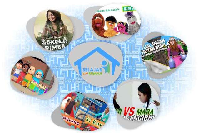 Jadwal Belajar dari Rumah TVRI 1-7 Juni