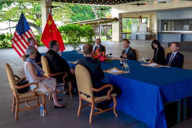 Dương Khiết Trì tham gia cuộc họp ở Hawaii để cứu vãn nền kinh tế Trung Quốc?