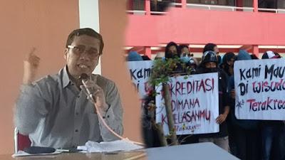 Terkait Kejelasan Akreditasi Prodi Teknik Sipil UKI Toraja Ini Tanggapan Rektor