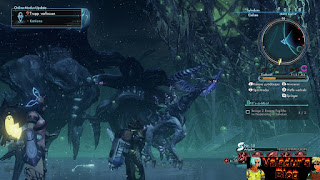 Huge monsters from Xenoblade Chronicles X