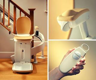 Krzesło schodowe do domu