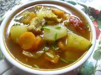 Sopera individual con sopa