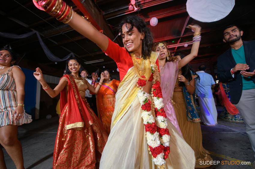 Outdoor Park Indian Wedding Dancing at German Park Jazz Music SudeepStudio.com Ann Arbor Indian Wedding Photographer