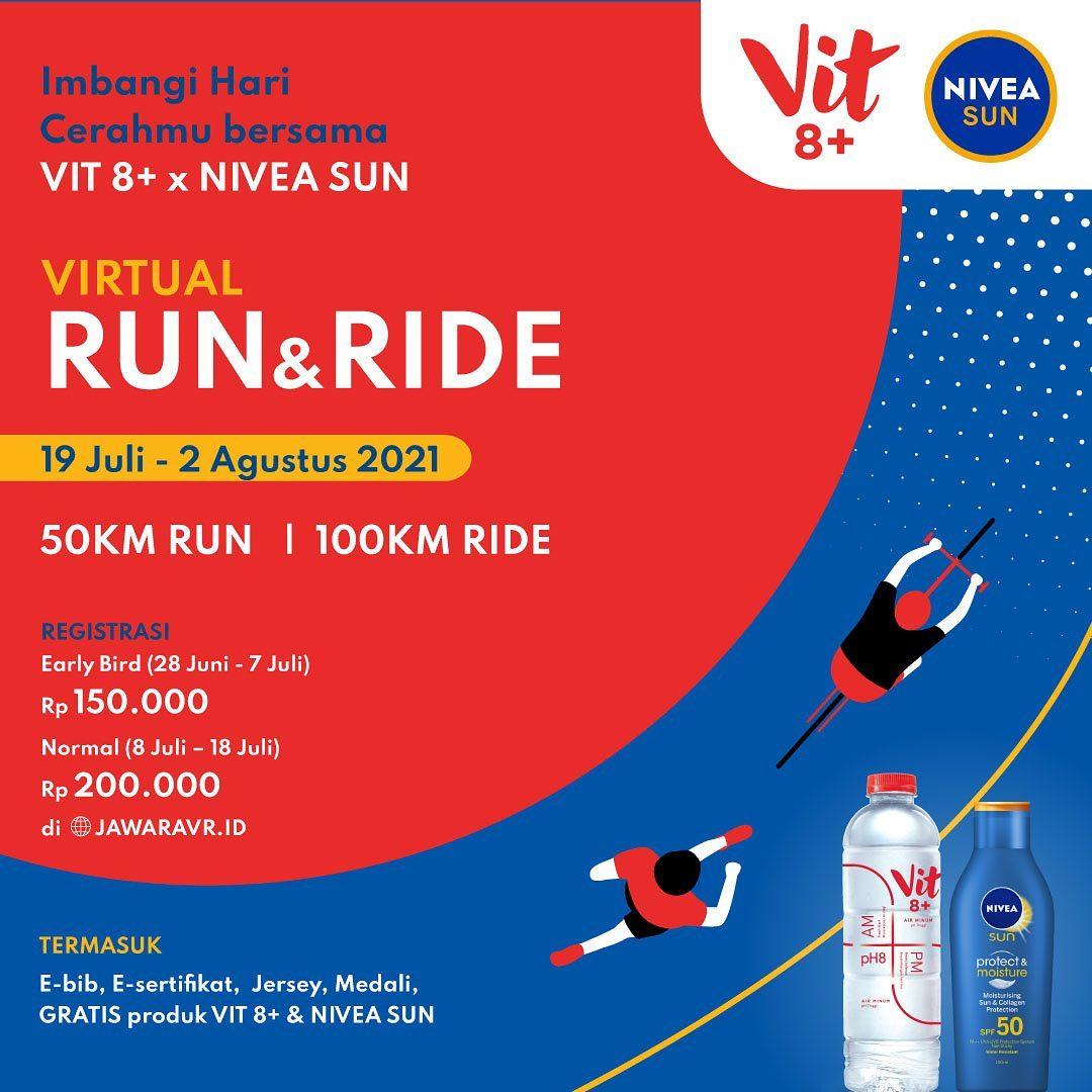 VIT 8+ NIVEA Sun Virtual Run & Ride • 2021