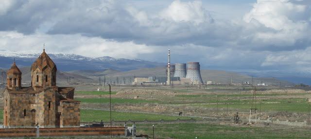 Aumentarán la seguridad en la central nuclear de Metsamor
