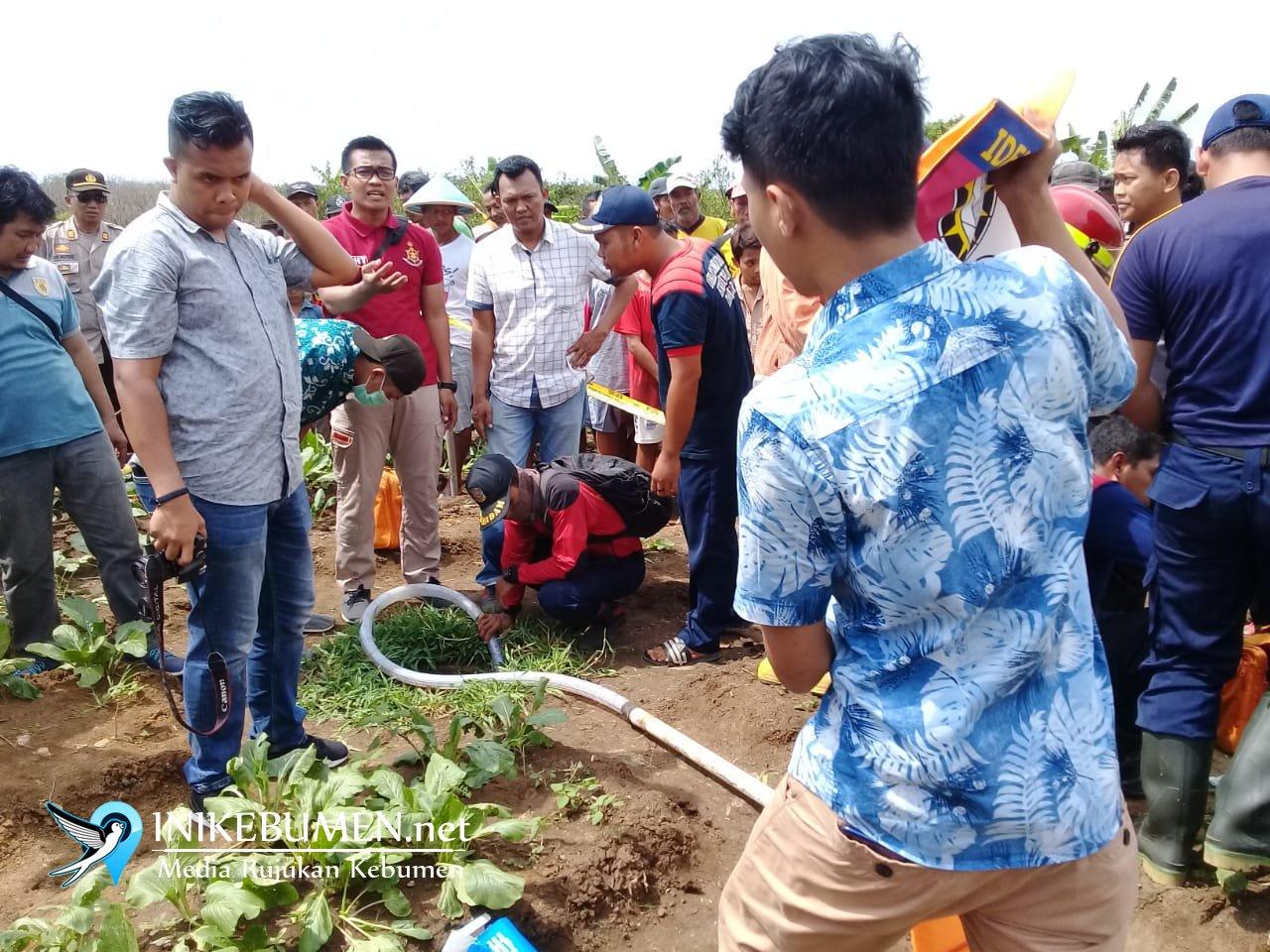 Siti Maryam, Pemetik Sayuran di Ambal Ditemukan Tewas di Dalam Sumur Sempit