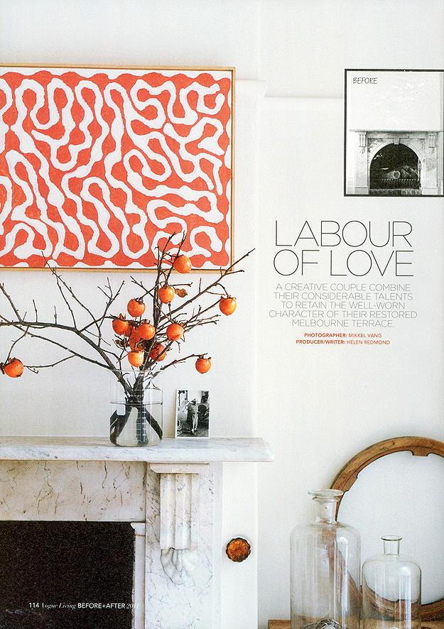 Stylish Homes Mark Tuckey S Melbourne Terrace Table Tonic