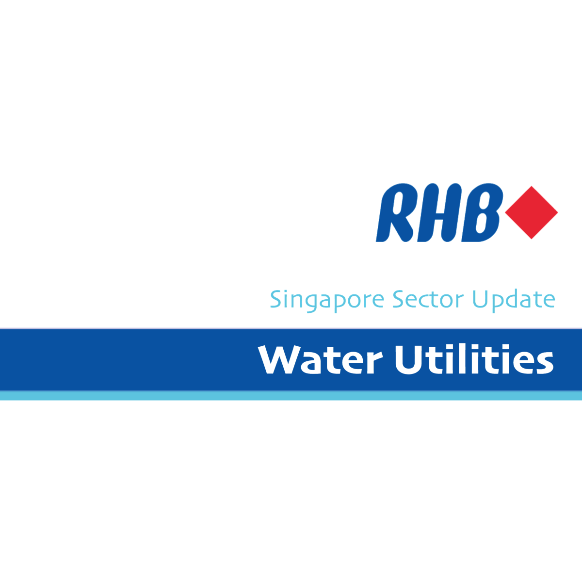 Water Utilities - RHB Invest 2017-01-03: Hydraulic Revolution