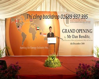 thi cong backdrop
