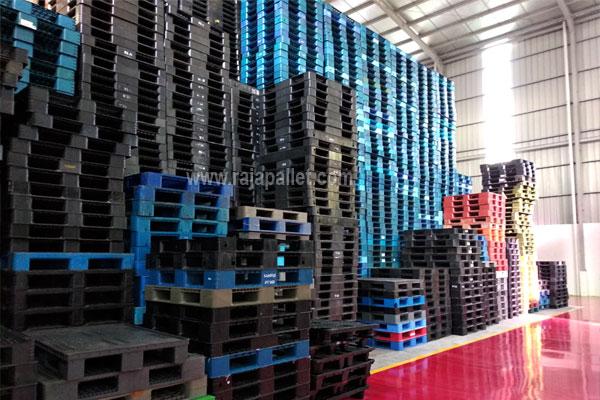 Supplier Penjual Pallet Plastik Untuk Gudang dan Pabrik