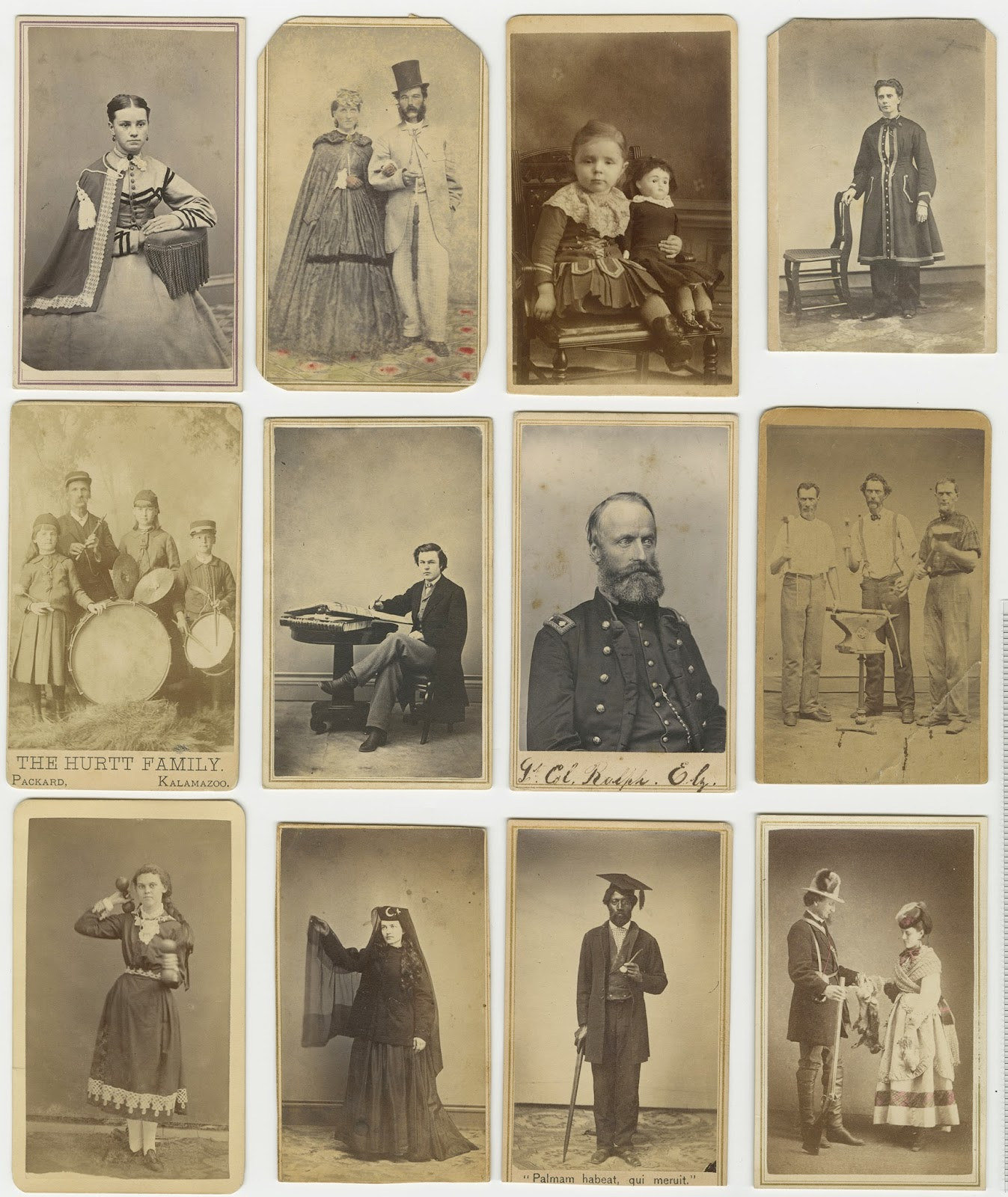 A Selection Of Cartes De Visite From The David V Tinder Collection Michigan Photography
