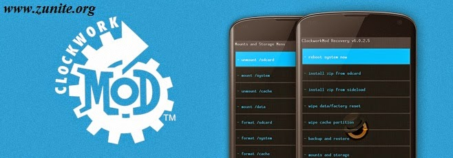 Samsung Galaxy Note 3 ဖုန်းအတွက် ClockworkMod/TWRP