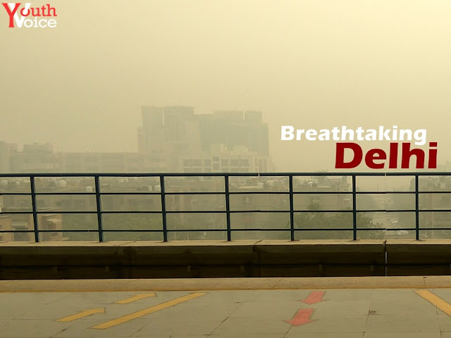 Delhi - Diwali 2016 After Effects Pollution Air Not Breathable