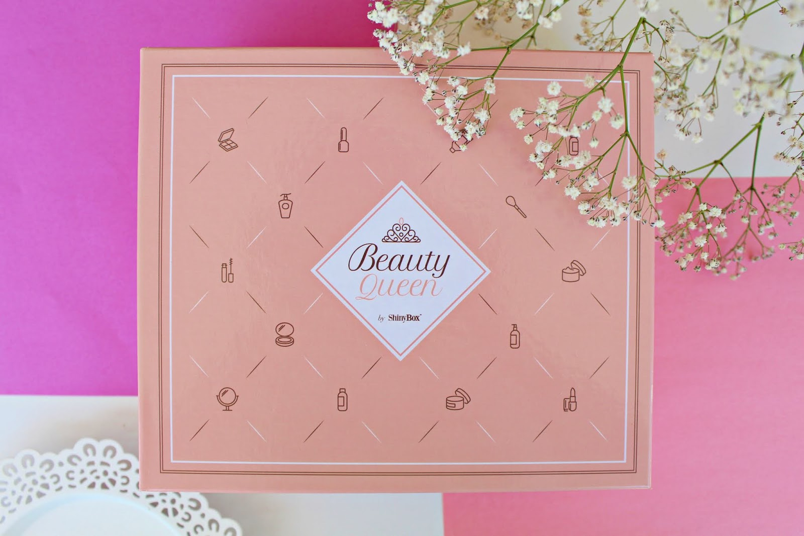 SHINYBOX Step into THE BEAUTY - MAJ 2019 - unboxing