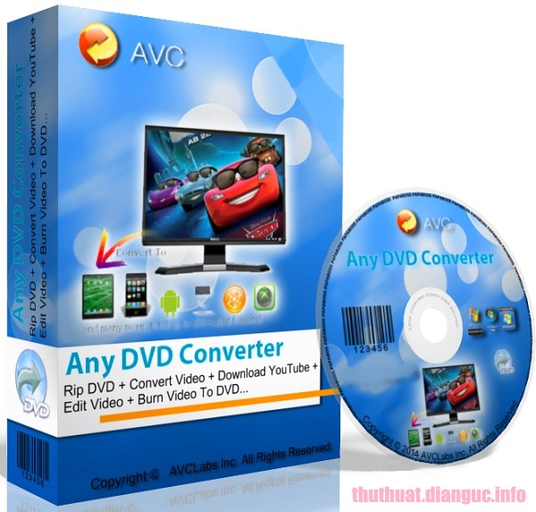 Download Any DVD Converter Professional 6.3.3 Full Crack
