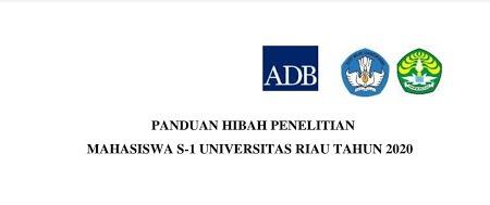 Hibah Penelitian Mahasiswa S-1 Universitas Riau Tahun 2020